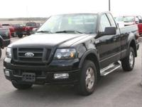 We put 4 New Tires on this Locally Owned F-150. Black
