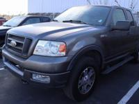 Dark Shadow Grey Metallic 2004 Ford F-150 FX4 with a