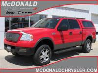 Options:  2004 Ford F-150 Supercrew Fx4 4X4 Styleside