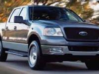Options:  2004 Ford F-150 Fx4|Sterling Gray/Gray|V8