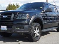 2004 Ford F-150 Lariat 4WD 4-Speed Automatic with