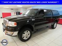 LEATHER, SUNROOF, F-150 Lariat, 4D Crew Cab, 5.4L V8