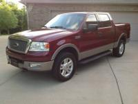 This truck for sale is a 2004 Ford F-150 SuperCrew