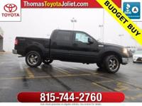 2004 Ford F-150 Lariat in Black Clearcoat includes,