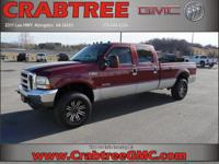 Options:  2004 Ford F-250 Super Duty Lariat|4Dr Crew