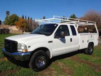 2004 Ford F-350 2004 Ford F-350 Extra Cab Utility Truck