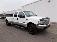 FORD F350 CREW CAB DUALLY 4X4 POWERSTROKE DIESEL WITH