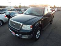 Our 2004 Ford F-150 4X4 SuperCrew delivers all the