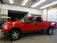 2004 Ford F150 FX Off Road Sunroof Extended Cab Short