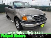 Options Included: N/A2004 Ford F-150 Heritage XL, tan