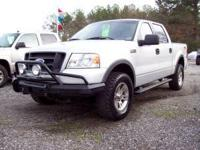 2004 Ford F150 SuperCrew FX4 4x4, 5.4 V8, Auto,