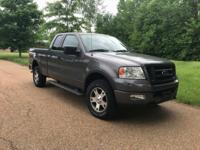 Recent Arrival! 2004 Ford F-150 XLT 4x4 Gray 4WD