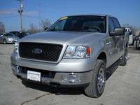Options Included: N/A2004 Ford F150 Supercrew 4x4 XLT,