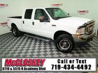 Capable 2004 Ford F-250SD Lariat Crew Cab w/ 4x4,