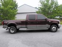 This is a 2004 Ford F350 Lariat, FX4, Super Duty