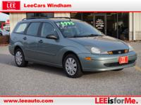 Exterior Color: lt green, Body: 4 Dr Wagon, Engine: 2.3