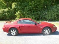 2004 Ford MustangV6 Redfire Clearcoat Metallic Medium