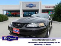 Costs Mach 1 trim. Leather Interior, CD Changer, Costs
