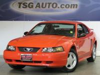 FRESH IN! THIS 2004 FORD MUSTANG 40TH EDITION COUPE HAS