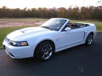 2004 Cobra Convertible. White, 2000 miles. One owner,