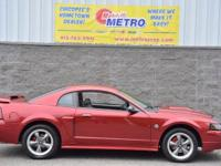 2004 Ford Mustang GT  in 40th Anniversary Crimson Red,