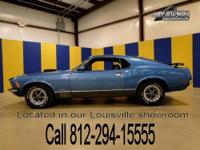 This fully custom Mach 1 Mustang carries the appeal of