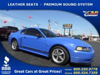 Used 2004 Ford Mustang,  DESIRABLE FEATURES:   LEATHER