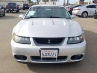 Options:  2004 Ford Mustang Cobra|Silver|4.6L V8 Dohc