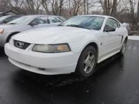2004 Ford Mustang 2-door! It's sharp and it's