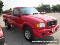 Options Included: Anti-Lock BrakesNice '04 Ranger with