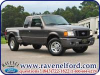 Options Included: 2004 Ford Ranger Edge Supercab **
