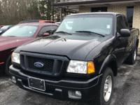 CARFAX One-Owner. 2004 Ford Ranger RWD 5-Speed 3.0L EFI