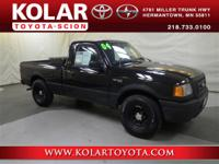 Ranger XLT and 5-Speed Manual with Overdrive. 5spd!