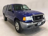 Options:  2004 Ford Ranger Xlt|Blue|**** 4X4 **** 5