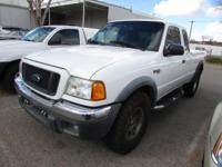 Options:  2004 Ford Ranger|Super Cab Pickup 4X4|Thank