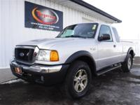 LOCAL TRADE 2004 FORD RANGER XLT 4X4 SUPERCAB 4 DOOR