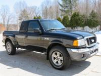 New Price! Black Clearcoat 2004 Ford Ranger XLT FX4 4WD