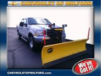 INCLUDES 8 FOOT FISHER PLOW. One Owner. This very clean