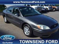 2004 Ford Taurus SEL, This 2004 Ford Taurus SEL Premium