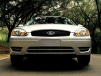 27/20 Highway/City MPG  Ford 2004 SES Silver  Options: