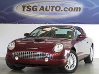 FRESH IN! THIS 2004 FORD THUNDERBIRD HAS JUST ARRIVED