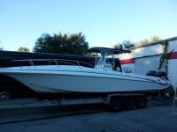 Very good boats.Original Owners.Power Trac Hull Insures