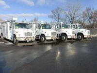 Great Running Dedicated CNG Utility Truck With 35K