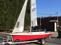Sailing World Boat of the Year; excellent condition;