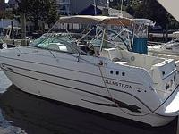 Look at Glastron's new GS 279 Sport Cruiser, a 27 foot,