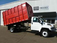 2004 GMC C45000 2004 GMC C4500 Dump Truck / Chipper