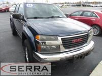 2004 GMC CANYON 4X4 CREW CAB 4X4 SLE WITH 3.5 L 5