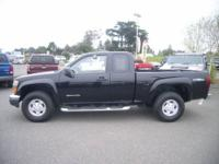 2004 GMC Canyon 4x2 Extended Cab 6 ft. box 125.9 in.