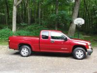 2004 GMC Canyon Ext Cab Truck- SLE model, Cherry Red,