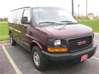 This 2004 GMC Savana Cargo Van 3500 135 Van features a